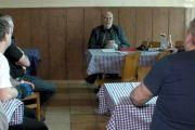 Orlová - Setkání s bývalými horníky - problémy s vyplácením renty