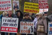 Ostrava - Kraj přes nesouhlas občanů a zaměstnanců zrušil Orlovskou nemocnici
