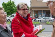 Volební štafeta dorazila na Karvinsko