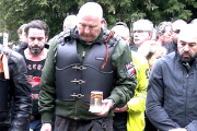 Noční vlci ve Frýdku-Místku uctili památku padlých sovětských vojáků