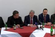 Tisková konference předsedy ÚV KSČM Vojtěcha Filipa